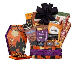 Wine Country Gift Baskets Halloween Chocolate and Sweets Gift For Ghosts and Ghouls of all Ages