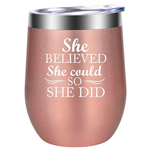Inspirational Gifts for Women – She Believed She Could, so She Did – Inspiring, Enco ...