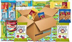 Healthy Snacks Care Package (30 Full Size Items!) Skinny Pop, Nature Valley, Nutella, Welch̵ ...