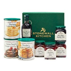 Stonewall Kitchen Pancake Sampler Box Gift (8 Piece)