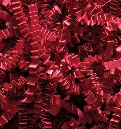 MTBHY 1/2 LB Crinkle Cut Paper Shred – Red