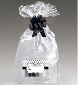 Extra Large Super Jumbo Clear Cello/cellophane Bags Gift Basket Packaging Bags Cello Bags 30 x 4 ...