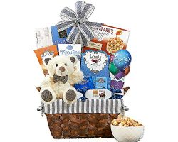 Bear Hugs Congratulations Gift Basket Perfect Gift For Graduation Promotion New Home Wedding Con ...