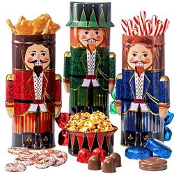 Chocolate Popcorn Gift Basket – Gourmet Food Gift Set Prime Delivery – Chocolate &am ...