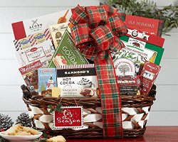 Season's Greetings Holiday Gift Basket
