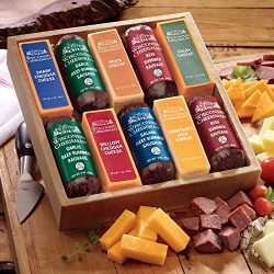 Taste Tempting 10 Cheese & Sausage Gift Assortment from The Wisconsin Cheeseman