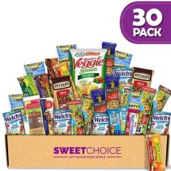 Healthy Snacks Care Package (30 Count ) Ultimate Sampler Mixed Bars, Candy Snacks Box for Office ...