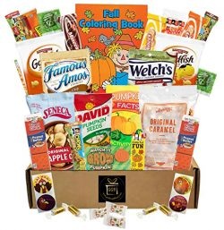 Fall Snacks – 40 Pieces Campus Care Package – Great For College, Kid, Adult, Student ...