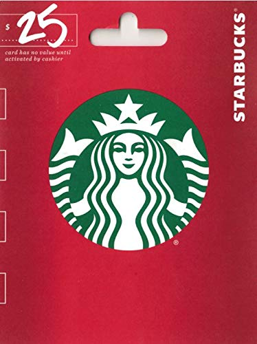 Starbucks Holiday $25 Gift Card