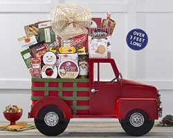 Holiday Gift Nostalgic Sweet and Savory Truck Full of Gourmet Snacks by Wine Country Gift Baskets