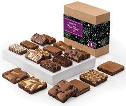 Fairytale Brownies New Year Brownie & Sprite Combo Gourmet Chocolate Food Gift Basket – ...