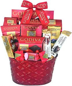 Godiva Chocolatier Gift Basket -Chocolate Assortment For 2019 Christmas Holiday Season-Gift Box- ...