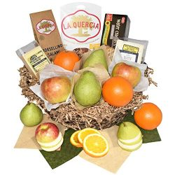 Capital City Fruit 15 Piece Premium Fruit, Artisan Meat and Cheese Basket – Orchard Fresh  ...