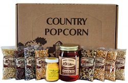 Amish Country Popcorn – 4 Ounce Variety Gift Sets – Old Fashioned, Non GMO, Gluten F ...
