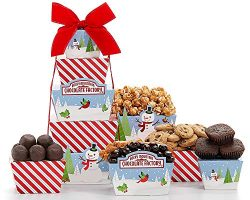 Holiday Gift Tower Rocky Mountain Chocolate Factory by Wine Country Gift Baskets