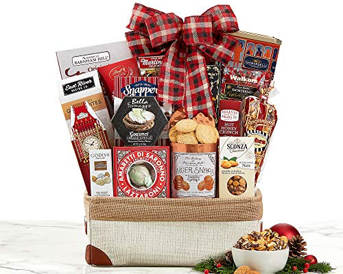 Christmas Snacks Holiday Gift Basket By Van's Gifts. Art Of Appreciation for Corporate and ...