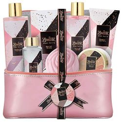 Bath & Body Spa Gift Basket for Women, Best Gift Idea for Christmas, Mother's Day & ...