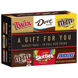 MARS Chocolate TWIX, SNICKERS, DOVE, M&M'S Milk Chocolate, M&M'S Peanut and  ...