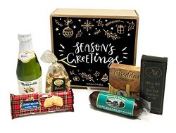 Gourmet Sausage and Cheese Gift Set – Meat and Cheese Gift Box – Great for Holiday,  ...