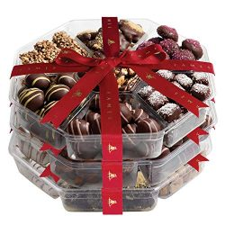Chocolate Gift Baskets Holiday Chocolates, Chocolate Set of 3 Assortments, 8 lb