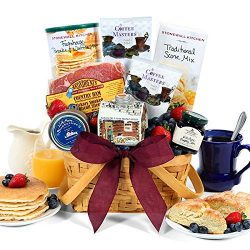 GreatArrivals Gift Baskets Gift Baskets Breakfast In Bed: Valentine's Day Gift Basket,, ()