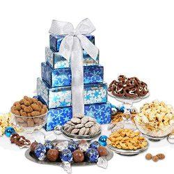 GreatArrivals Gift Baskets Gift Baskets Winter Wonderland: Holiday Gift Tower