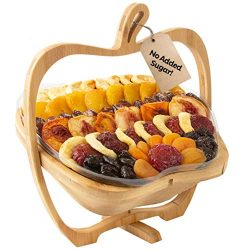 Oh! Nuts Christmas Gift Baskets Healthy Assorted No Sugar Added Dried Fruit Gourmet Holiday Fami ...