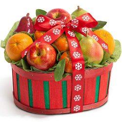 Fruitful Holiday Fresh Fruit Gift Basket