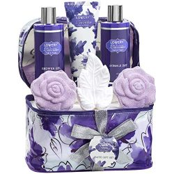 Christmas Gift – Bath and Body Gift Set For Women and Men – Lavender and Jasmine Hom ...