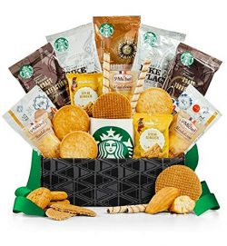 GiftTree Starbucks Coffee & Cookies Delight | Includes Starbucks Pike Place Roast, Breakfast ...