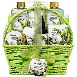 Christmas Gifts – Bath and Body Gift Basket For Women and Men – Magnolia and Tuberos ...