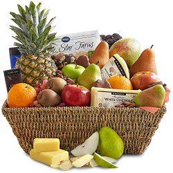 Golden State Fruit Deluxe Organic Gift Basket