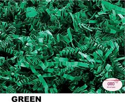 Crinkle Cut Paper Shred Grass Filler for Gift Box Wrapping and Basket Filling in Resealable Bags ...