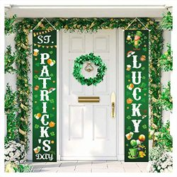 Euone  St.Patrick's Day ClearanceSales!!! , 2020 St.Patrick's Day Decoration Banner  ...