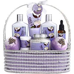Christmas Home Spa Gift Baskets for Women & Men – Bath and Body Gift Basket – Sp ...