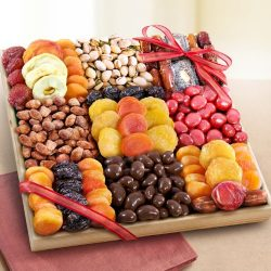Extravagance Grand Dried Fruit and Treats Tray