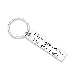XGAKWD Husband Keychain Gifts from Wife for Wedding Anniversary Valentine's Day, Christmas ...