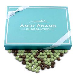 Andy Anand Chocolate Mint Cookies Bites – Dipped in Dark & White Mint Chocolate,1 lb G ...