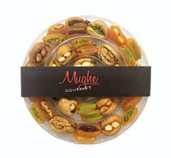 Mughe Holiday Nuts Dried Fruit Gift Basket – Gourmet Food Gifts 20 Oz – Christmas, T ...