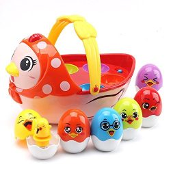 PUSITI Baby Toys Electronic Learning Toys for 2 3 4 5 Years Old Toddlers Kids Education Music To ...