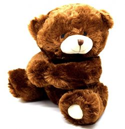 Harnel Teddy Bear Super Soft Stuffed Animal for Valentine`s Day Gift or Sweet Cuddle with This C ...