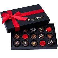 Hazel & Creme Chocolate Cookies Gift Box – Valentine's Day Gift – Annivers ...