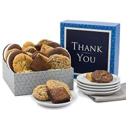 Bakery Treats Thank You Gift Box of Cookies, Brownies & Whoopie Pies – Bakery Gift Bas ...