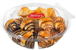 Stern's Bakery Rugelach Cookie Gifts Kosher 16 ounce Sympathy Gift Basket for Men, Women,  ...