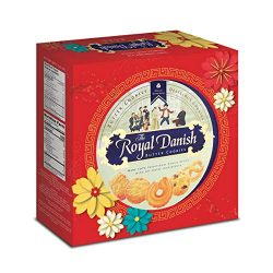 Royal Danish Premium Butter Cookies – Chinese New Year Giftbox, 32 oz