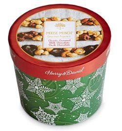 Harry & David Moose Munch Gourmet Popcorn 30 oz Holiday Drum