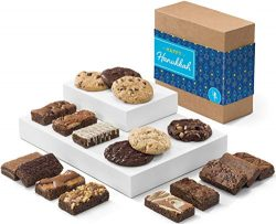 Fairytale Brownies Hanukkah Cookie & Sprite Combo Gourmet Chocolate Kosher Food Gift Basket  ...
