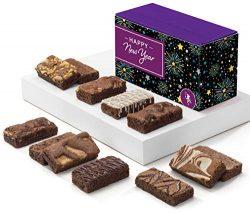 Fairytale Brownies New Year Sprite Dozen Gourmet Chocolate Food Gift Basket – 3 Inch x 1.5 ...