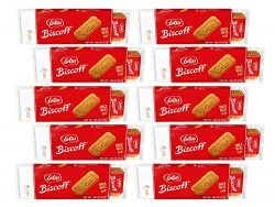 Lotus Biscoff – European Biscuit Cookies – 7.65 Ounce x 10 Retail Packs – 14 T ...