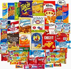Ultimate Sampler Care Package (40 Count) – Halloween Package, Trick or Treat Snacks, Chips ...